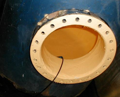 Boilerbeschichtung