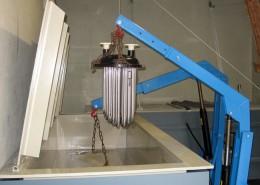 Unser Säurebecken zur Reinigung und Entkalkung von Boilern