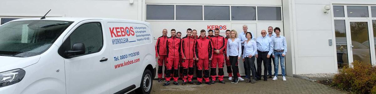 Das Team von Kebos